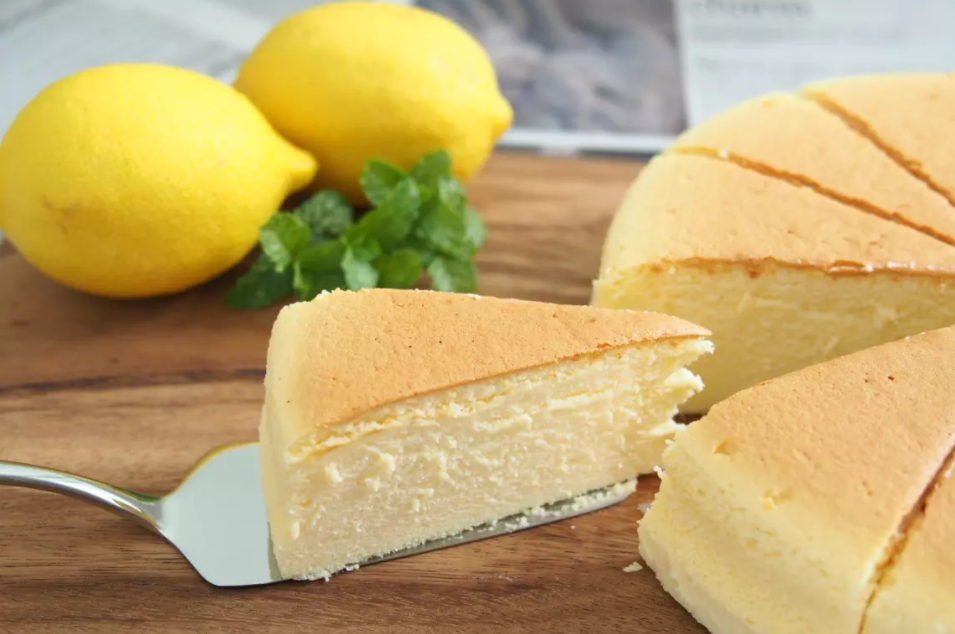 Japanese Cotton Cheese Cake Try