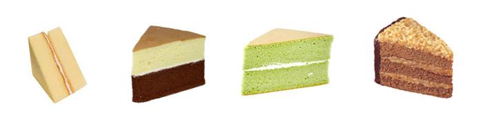 三角蛋糕切片